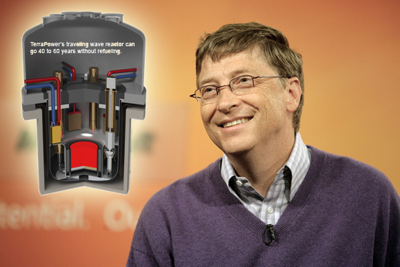 Insight into the coming Energy  Revolution shall be revealed to Bill Gates. -  Kim Clement.
