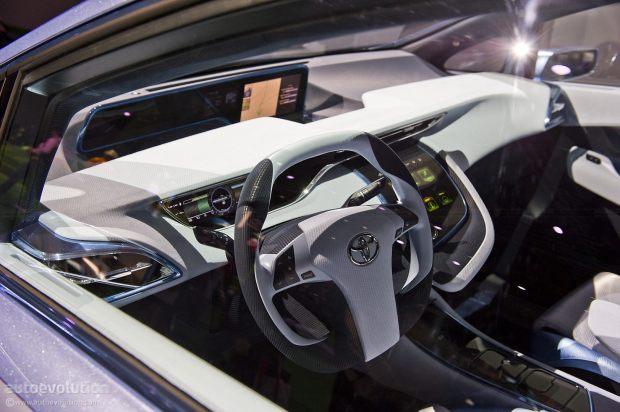 Toyota FCV Interior