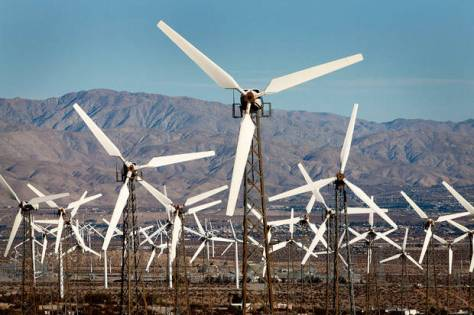 Ugly Wind Turbines - Bird Killers