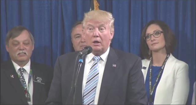 Trump Press Conference - 26 May 2016